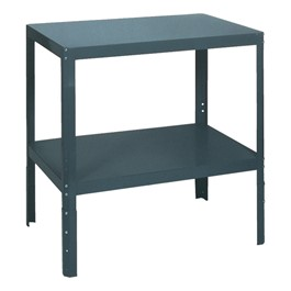 Adjustable-Height Shop Table