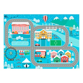 """Snow Place Like Home Rug (6\' W x 8\' 4\"""" L)"""