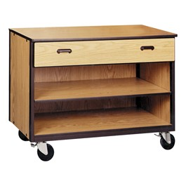 One-Drawer Storage Cabinet w/out Doors - Reinforced Frame