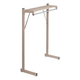 Hanger-Style Single-Sided Floor Rack (5\' W)
