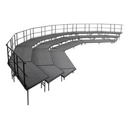 Bow-Front Stage Package
