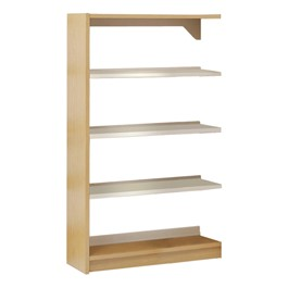 Single-Sided Steel Shelving – Adder Unit